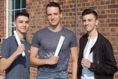 Wellington boys celebrate success