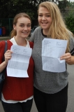 Alice Buckton-Perkins and Kate Haughton who scroed 5 A star and 13 A grades between them