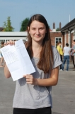 Jemma Crosby celebrates 3 A Star grades at A Level